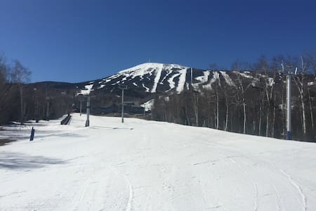 Ski in ski out studio condo at sugarloaf
