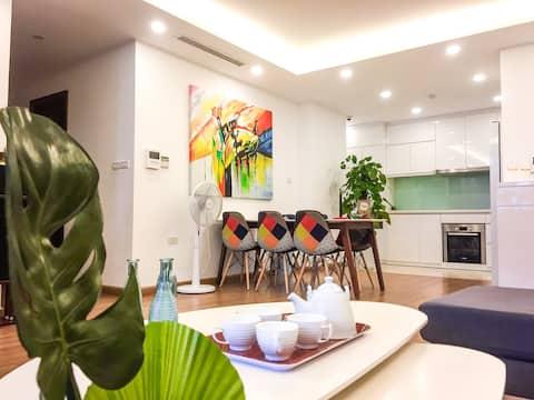 Hanoi apartment for rent , 3 bedrooms, 2 bathrooms