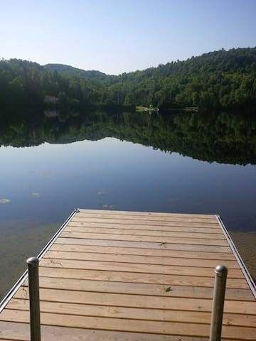 Chalet Au Lac de Grand Baie - Nominingue - Bungalov