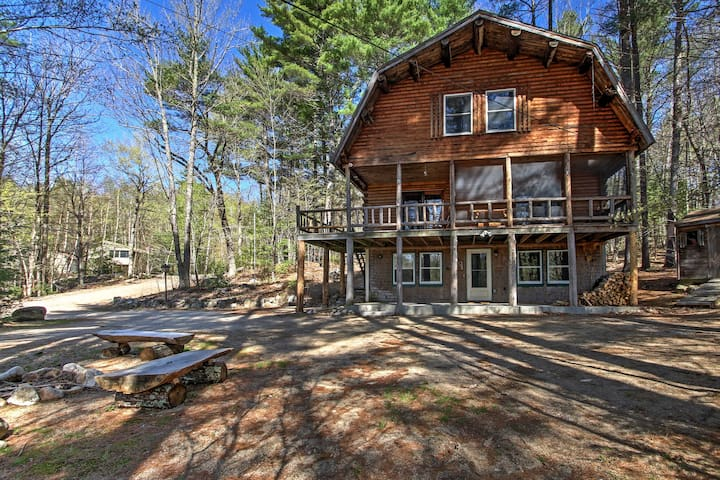 New 39 treehouse 39 4br madison cabin w game room cabins for Madison cabin rentals