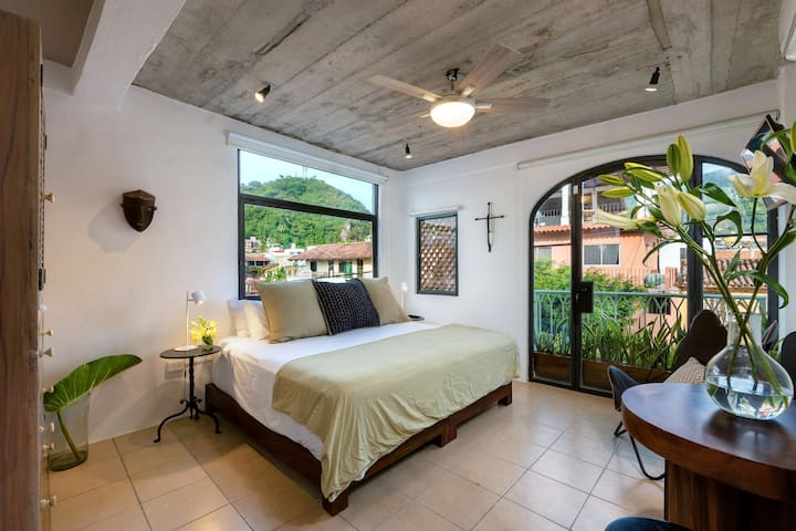 Casa Lucas- Bright Modern studio Zona Romantica PV