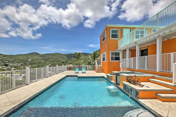 Christiansted House w/Ocean-View Pool & Spa!