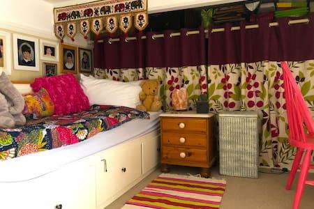 Mezzanine floor bedroom close to hospital