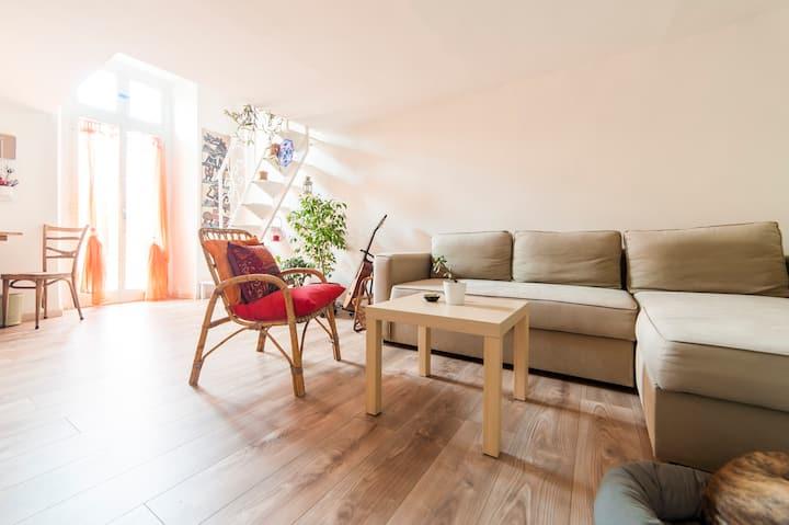 Cozy  and charming studio loft
