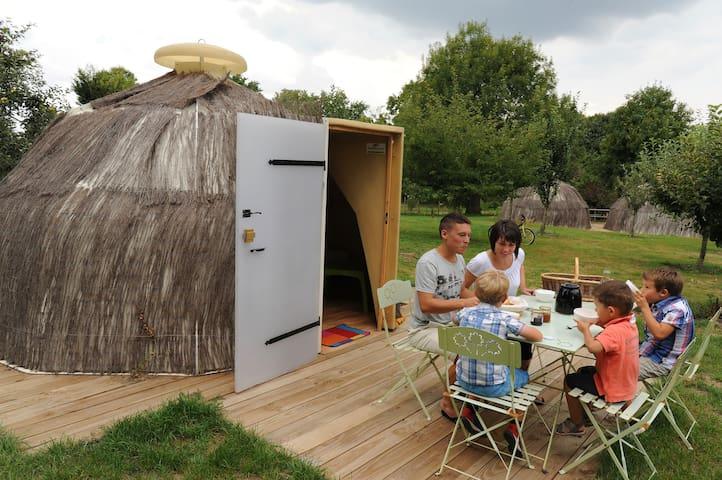 Le camp des marmottes - Poitou-Charentes - Baraka