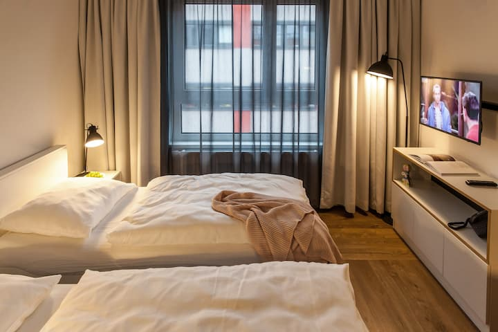 Serviced Apartment- Studio Twin in Vienna