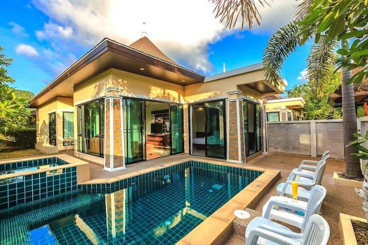 D'NC POOL VILLA 3 Bedroom private pool