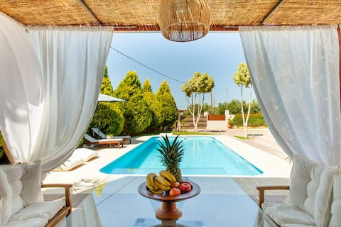 Private Luxury Villa κοντά στην περιοχή Limnoupolis