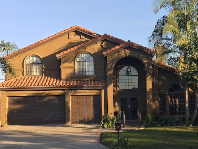 The Green Two Story Home in Downey