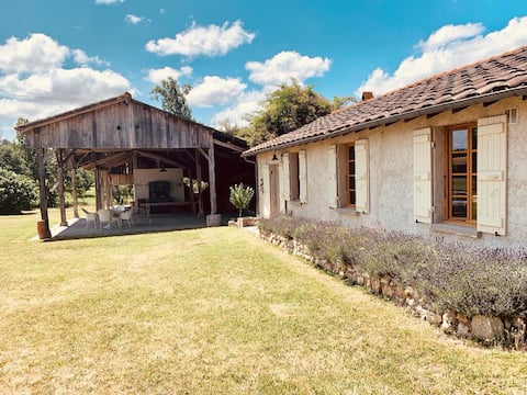 Lovely Renovated Gite with Pool and Spacious Views