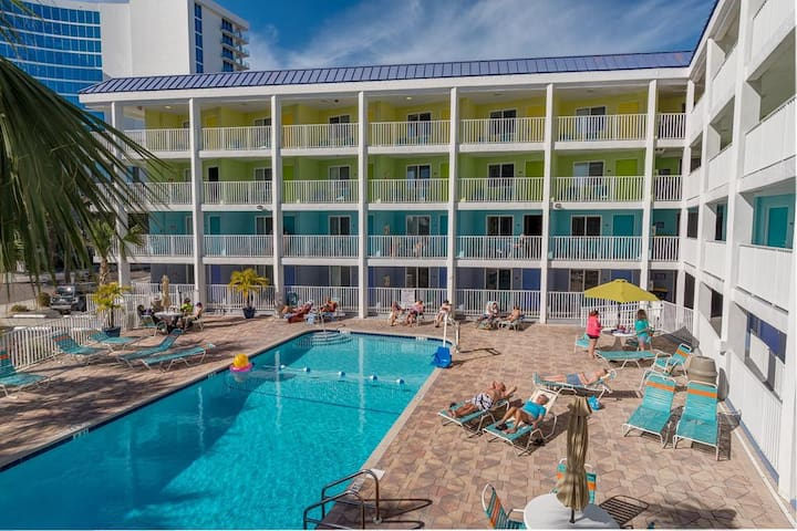 Affordable Efficiency in the Heart of Clearwater Beach #226 - Best Rate on the Beach!