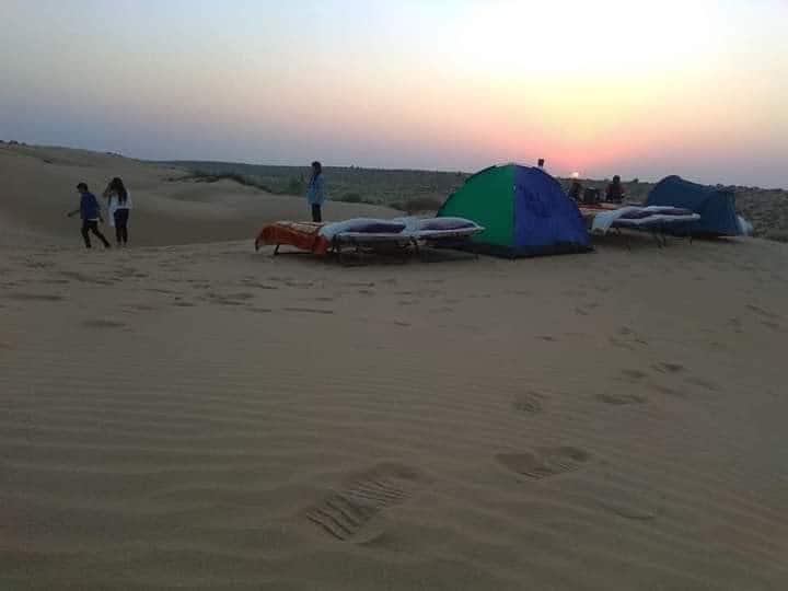 Charisma Desert Camping