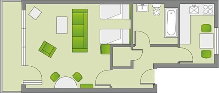 Die perfekte Wohnung im Zentrum Kassels