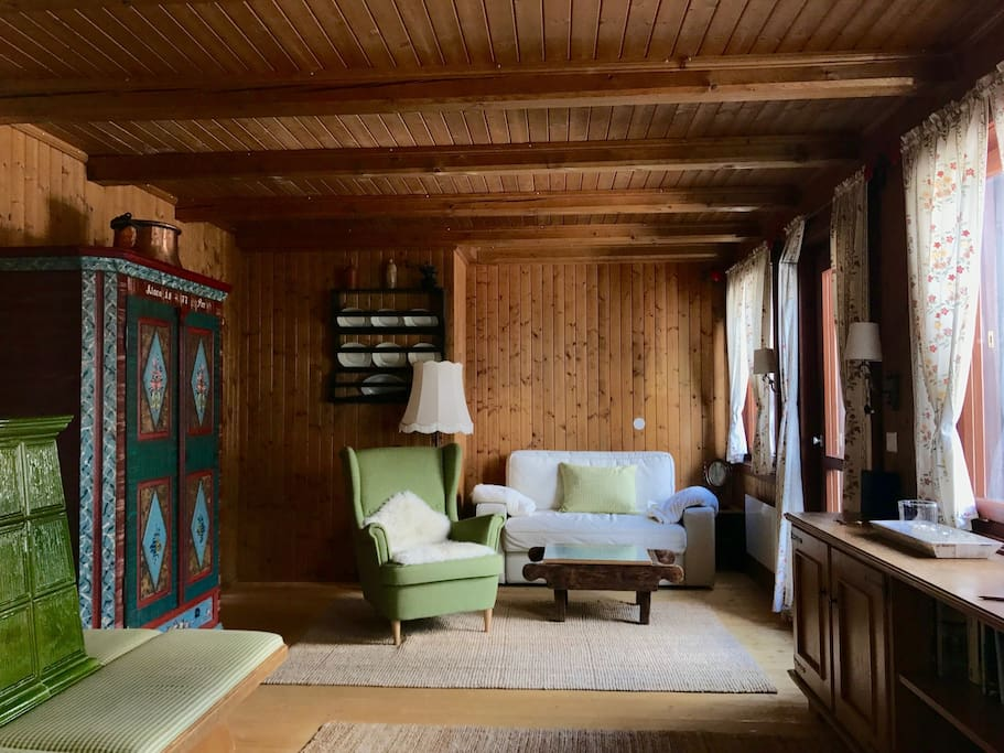 Wohnraum - obere Wohnung (Schlafsofa)