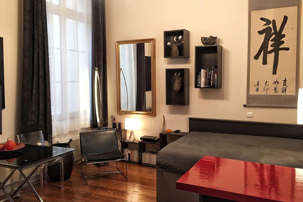 studio 30 m2 vieux port la rochelle appartements louer la rochelle poitou charentes france. Black Bedroom Furniture Sets. Home Design Ideas