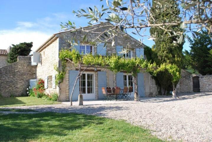 Charming typical provençale gite - Clansayes - Casa