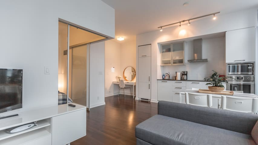Stylish, New Luxury Condo in the heart of downtown