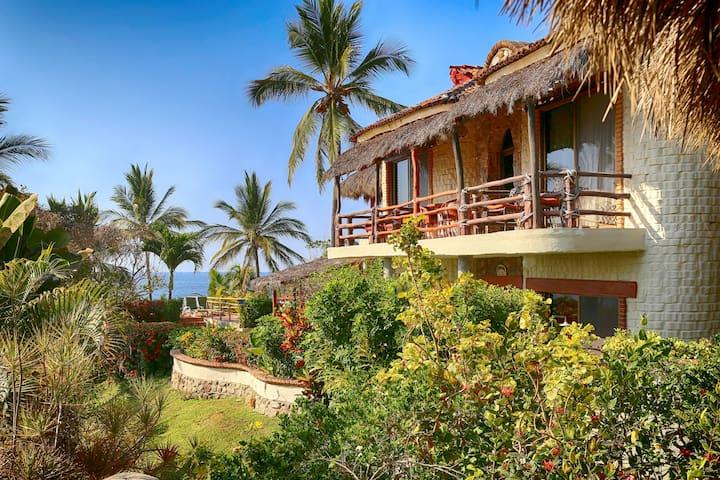 beach front Casa Mitch Sayulita