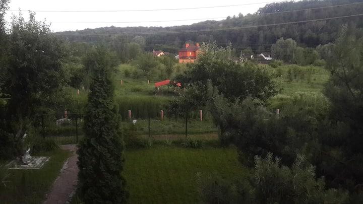 Экологический дом возле Киева
