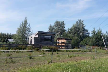 """Tiny house on organic vegetable farm """"Sam"""""""