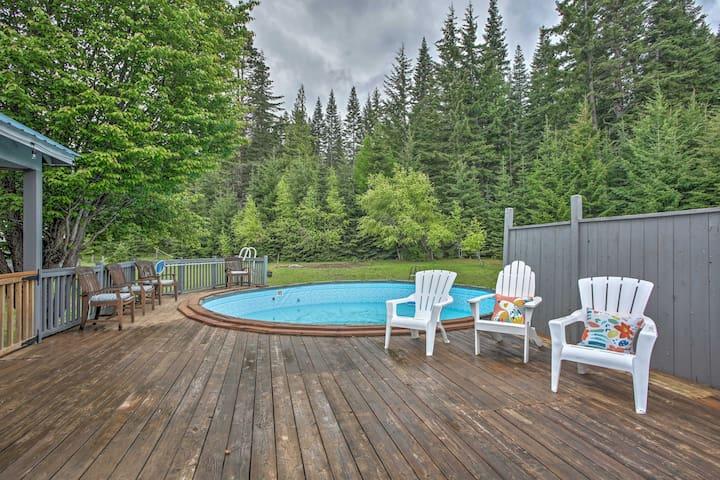 Spacious Cle Elum Retreat w/Yard, Pool & Spa!