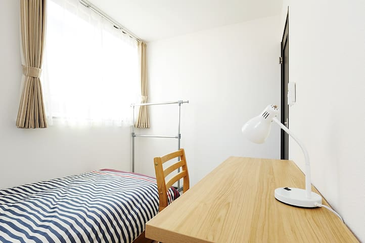 8 mins to Station/Private room with TV★S3-7