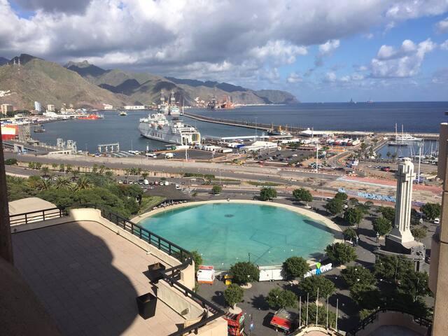 Apartamento vistas mar centro Santa Cruz