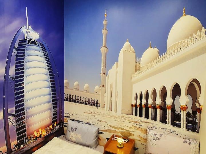 Taoyuan/Shared Dubai Room/Have Door/Female Only