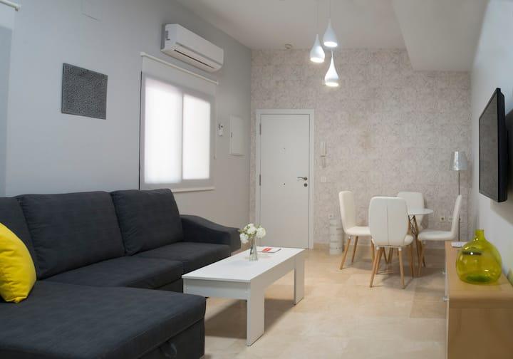 Apartamento con encanto en Patio Sevillano