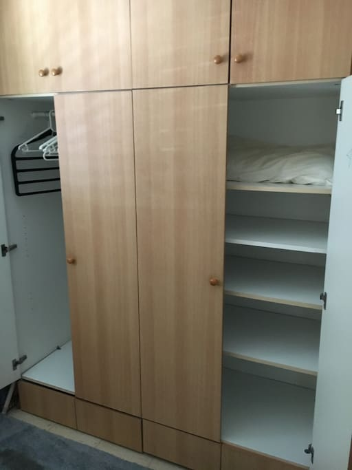 cupboard and shelving