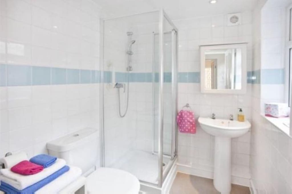 Shower Room and WC (shared)