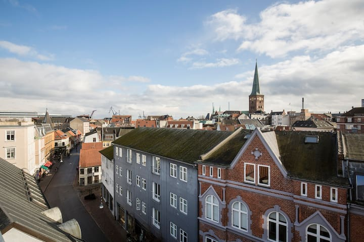 Latinernouveau -Home in central Aarhus and rooftop - Aarhus - Apartment