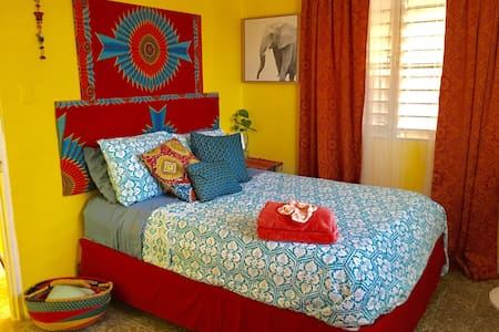 Beautiful Beach, Art, Ocean Apt {Beautiful room} - Luquillo