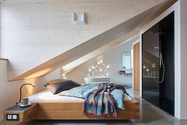 Besondere Wohnung in wunderbarer Bergregion