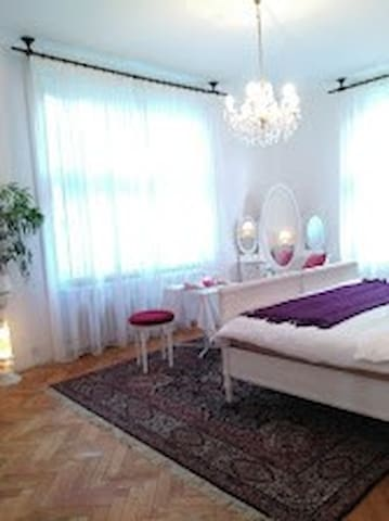 Villa room with pool10min to center - Prague - Villa