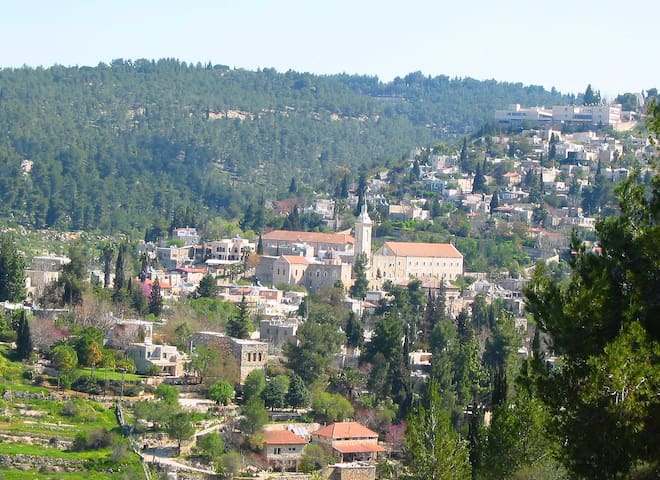 Spacious Apt, magical view, Ein karem jerusalem - Jerusalem