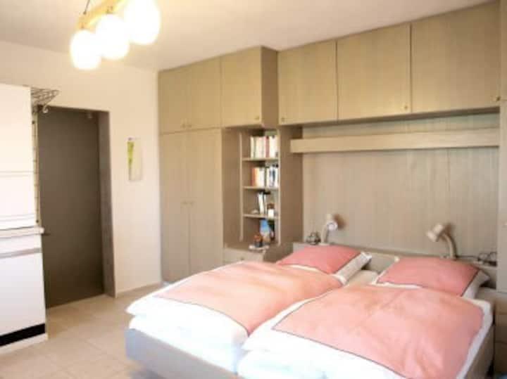 Haus Hügin, (Bad Bellingen), Ferienwohnung 2, 30qm, 1 Wohn-/Schlafzimmer max. 2 Personen