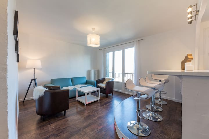 Bel appartement cosy au calme - Le Bourget-du-Lac - Apartment