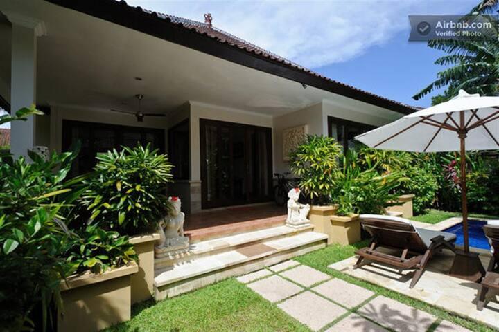 Zen Villa front entry