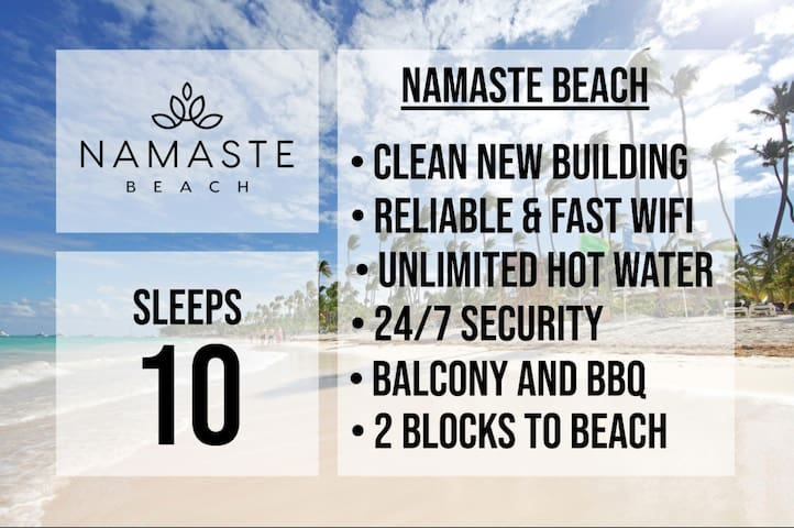 ★ Namaste Penthouse ★ Sleeps 10 ★ Beach Condo ★