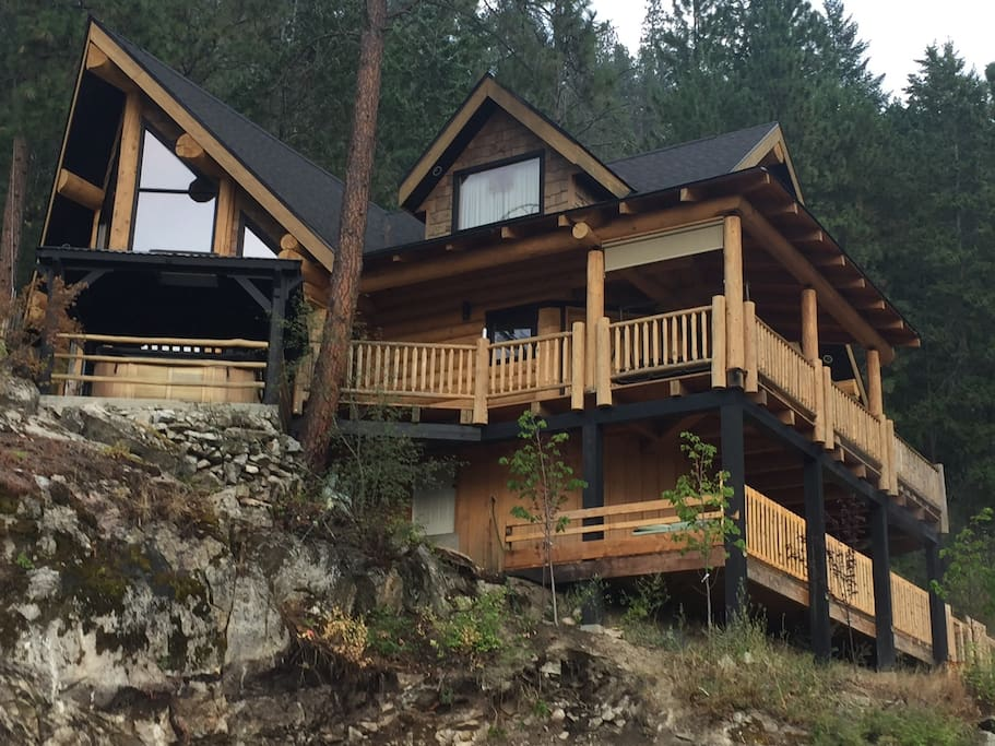 Keller cabin chalet in affitto a sanca british columbia for Cabine in affitto a victoria bc