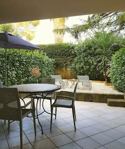 Beautiful studio close to beach private parking - Villeneuve-Loubet