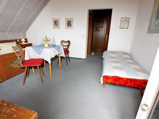 Schwarzwald-Café Pension Fechtig, (Ühlingen-Birkendorf), Doppelzimmer Nr. 4