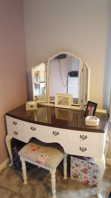 Dressing table in Private room