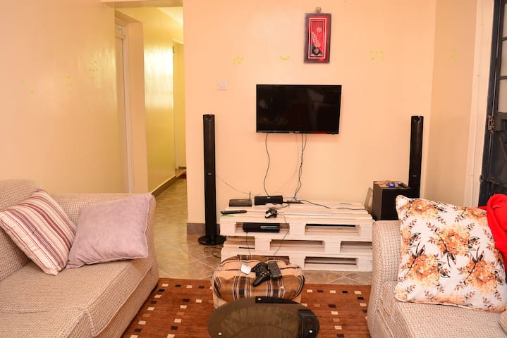 Elegant One Bedroom Apartment, South C, Nairobi.