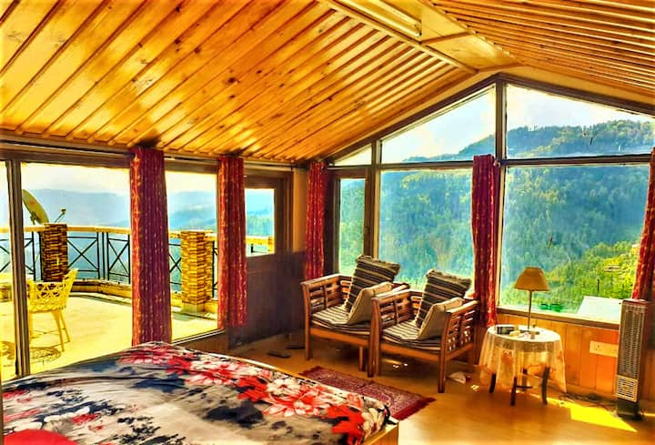 Misty attic Mashobra 3BHK-Entire Appartment shimla