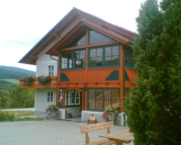 Ferienwohnung am Bio-Bauernhof Holzer - Gschaid bei Birkfeld - Appartement