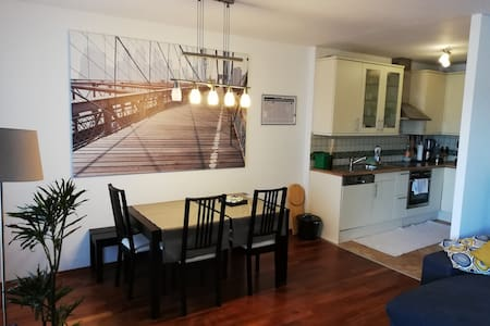 Cooles 75 m2 Appartment mit Balkon