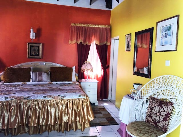 The Golden Palace of the Pink Hibiscus Villa