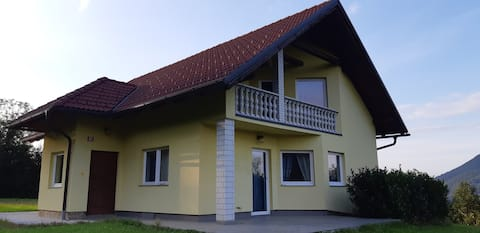 Spacious family house in the heart of Pohorje